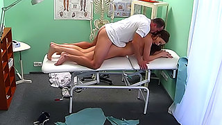 Horny Student Gets A Good Fucking From Doctor
