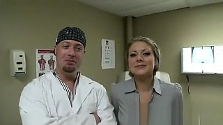 Velicity Von Visits Doctor for Rough Sex