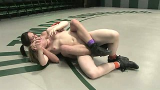 Special Match-up!  Blast from the past!  Loser is getting fucked by a huge black cock.