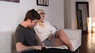 BADMILFS- Busty Milf Caugh Fucking Daughters Boyfriend