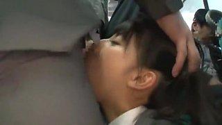 Fabulous Japanese slut Yuki Itano, Yuri Hasegawa, Kami Kimura in Crazy Bus, Public JAV clip