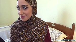 Hot arab and small teen first time I give them money and my cock
