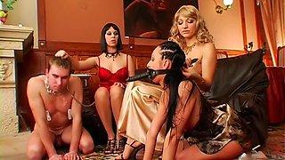 tied up slut gets cunt licked clip