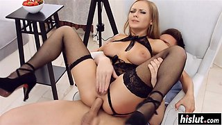 Katarina has fun with a kinky friend