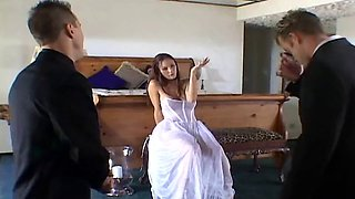 Two Guys Getting Fucked One Cute Bride,By Blondelover.