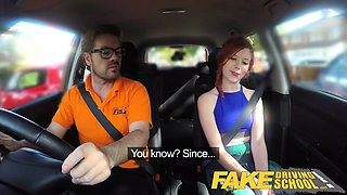 Fake Driving School Instructor creampies hot redhead