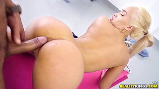 sexy spanish babe trains her body for more sexual experiences