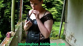 Cigar smoking boo