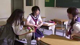 Schoolgirl roughed