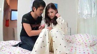 Amazing Japanese girl Nozomi Nishiyama in Incredible Fingering, Small Tits JAV video