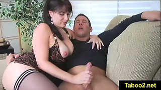 Cougar angelique jerk off