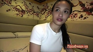 Filipina Creampie presents Miles