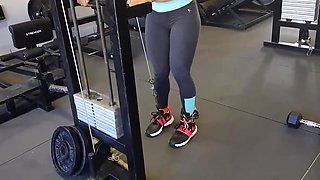 Yes!!! Fitness hot ass hot cameltoe 134
