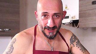 CastingAllaItaliana - Anal casting with ebony Italian newbie