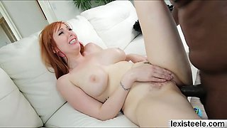 Lauren gets banged by Lexs monster cock