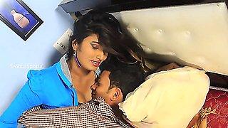 Swathi Naidu Romance With Boyfriend Romantic Clip