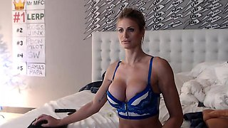 Classic American MILF Starved For Sex..