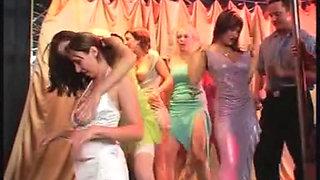 Busty Womens Nightclub Orgy