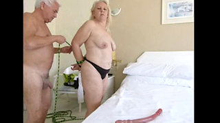 Granny loves bondage