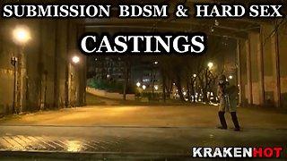 submissive bride in a bdsm video. amateur scene