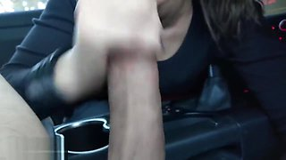POV Car blowjob swallow - Princess Poppy