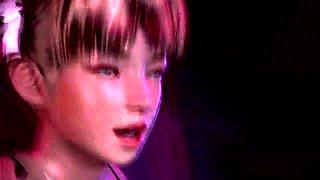 Striking 3D girls bring their hardcore fantasies to fruition