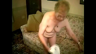 British granny takes off her girdle