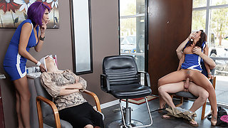 Rachel Starr & Preston Parker in Rachel Lets Her Hair Down - Brazzers