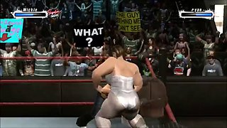 Ryan championship wrestling title defense