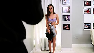 FetishNetwork Mila Jade casting couch rough bondage