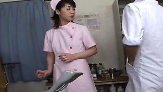 Nurse gets anal creampie