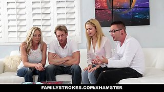 not familyStrokes - not family Game Night Orgy