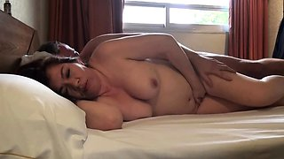 german homemade romantic couplesex with brunette creampie