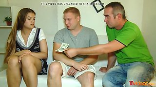 18 videoz - lota - he needs the money and she needs cock