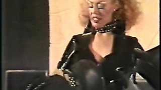 Best Vintage Mistress slave, See pt2 at goddessheels