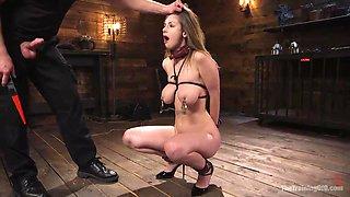 brutal slave training