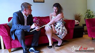 AgedLovE Mature Seducing Businessman