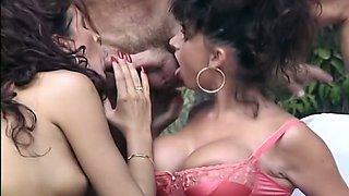 Voracious and busty white chick handles hardcore anal sex