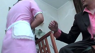 The master fuck the maid
