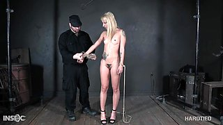 Bondage extreme for naked Sophia Grace