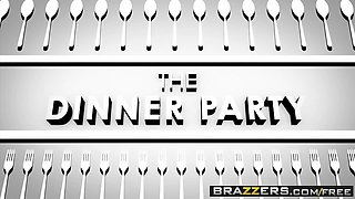 Brazzers - Real Wife Stories -  The Dinner Party scene starr