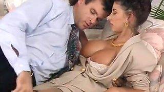 Retro hardcore porn scene