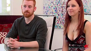 Laura and brett hope to open up and enjoy the swingers party