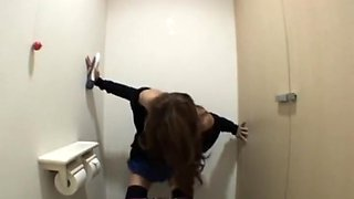 Sana Masturbation in the toilet