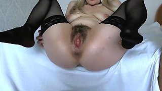 Hairy pussy will write to you in the mouth