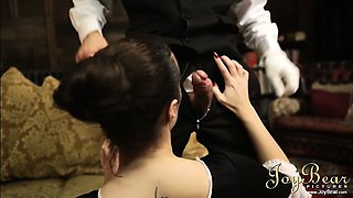 Babe steals a ring while maid seduces the butler